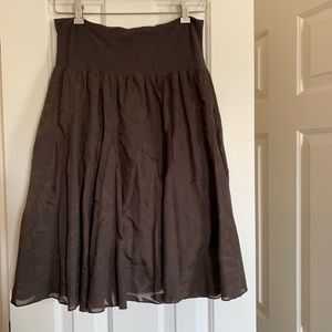 J Crew Midi Skirt, size Small